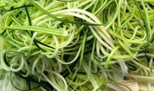 Courgette Noodles